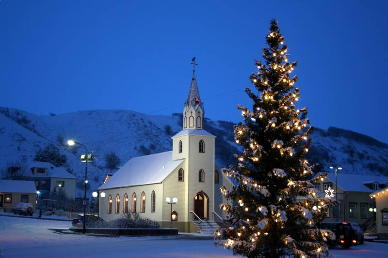 people - Christmas In Iceland