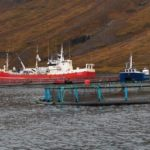 7-Aquaculture-(P)-Cage_and_service_boat--(copyright-Hordur_S)
